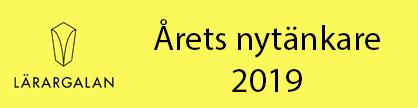 Lärargalan - Årets nytänkare 2019